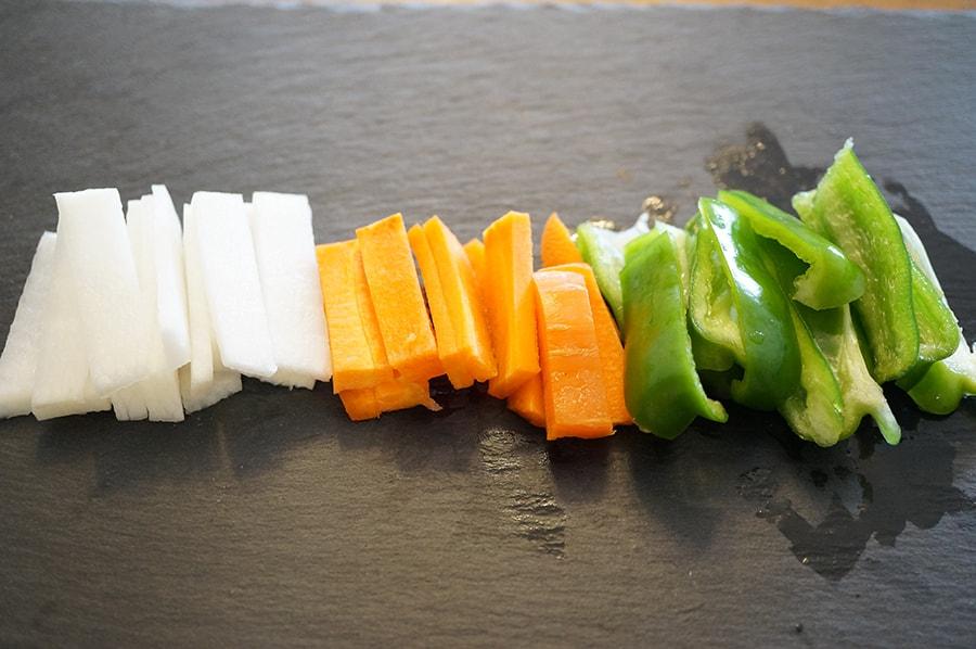 野菜餅の作り方