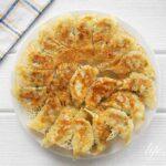 栗原はるみさんの餃子のレシピ。豚ひき肉と白菜の餃子。
