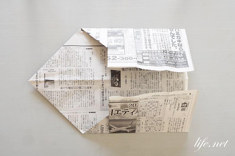 あさイチの新聞紙ゴミ箱の作り方と折り方を紹介。簡単で便利!