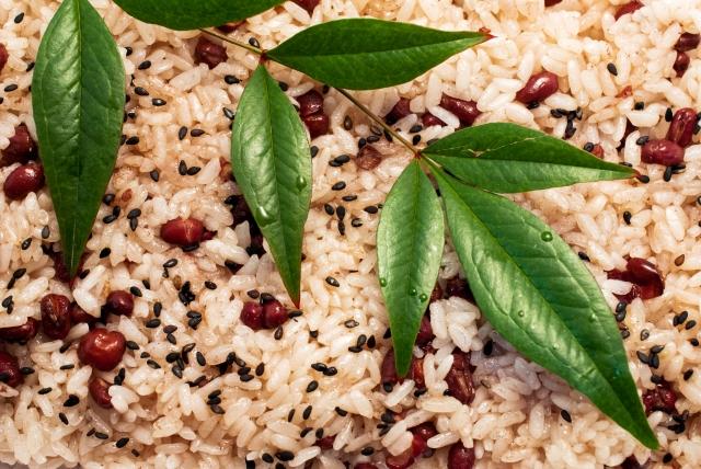 お赤飯の作り方。もち米とささげで作る鈴木登紀子さんの基本レシピ。