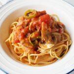 あさイチのナポリタンのレシピ。プロの本格的なソースの作り方。