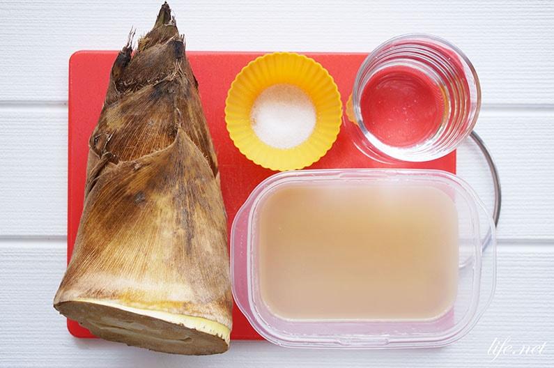 きょうの料理のたけのこレシピ6品。大原千鶴さんのメニューも紹介。