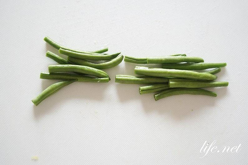 男子ごはんのゴーヤとインゲンの白和えのレシピ。マヨネーズで絶品。