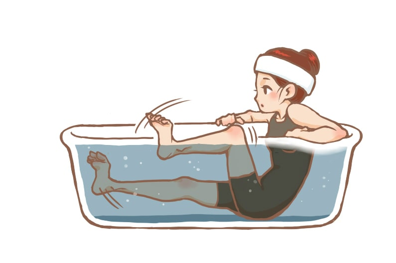 お風呂で冷たい水を飲むとダイエットに!痩せる入浴法3つを紹介!