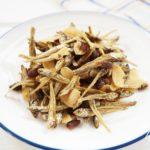 あさイチのナッツとレーズンの田作りのレシピ
