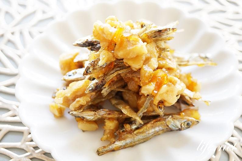 平野レミさんのおせち、マーマレード田作りのレシピ