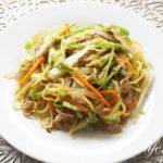 菰田欣也シェフの焼きそばのレシピ。あさイチの野菜たっぷり焼きそば。