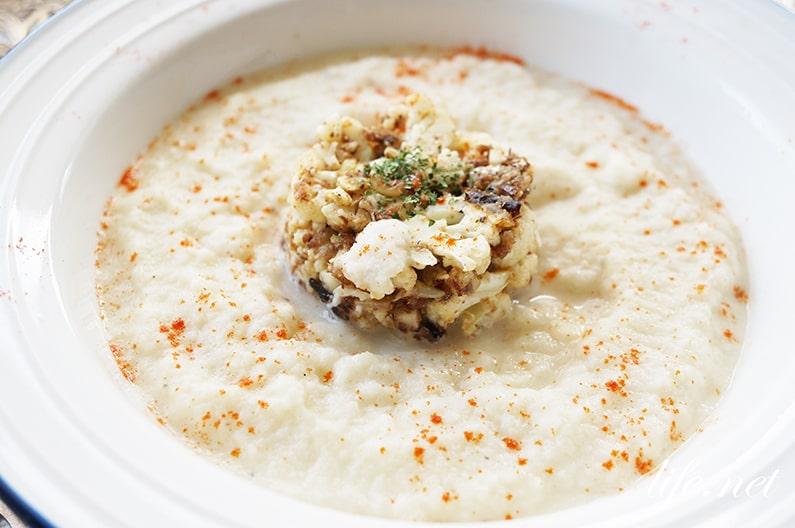 あさイチのカリフラワースープのレシピ。プロの絶品ポタージュ。