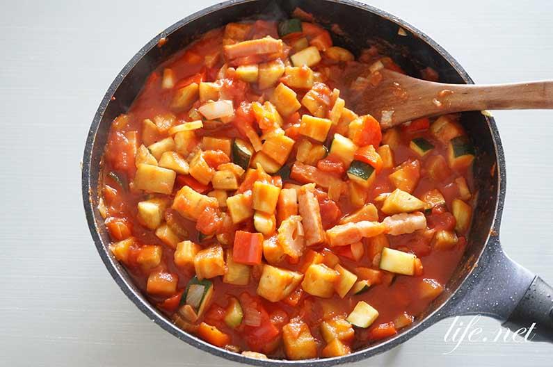 カポナータ丼のレシピ。あさイチの落合務シェフの絶品カポナータ。