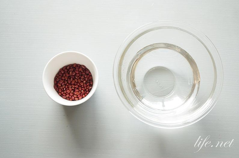 あずき水の作り方とダイエット効果。韓国でも話題!食前に飲むだけ。