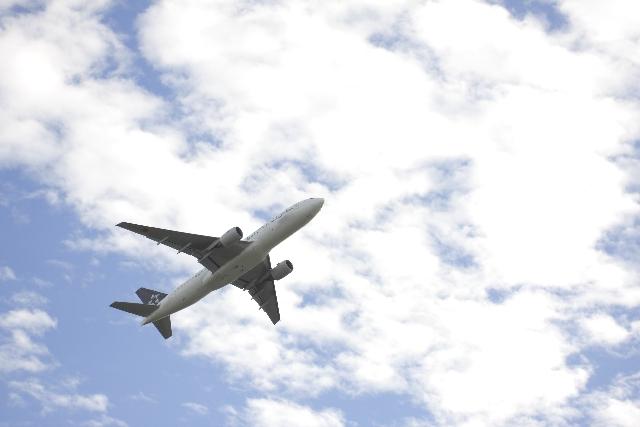 飛行機で海外旅行