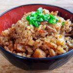 男子ごはんのジューシーのレシピ。沖縄県のご当地料理。