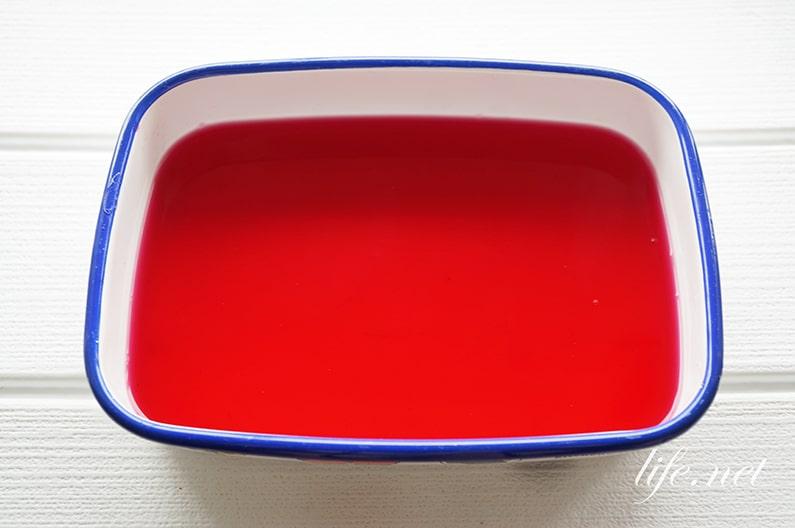 赤じそジュース・赤じそシロップの作り方。きょうの料理のレシピ。