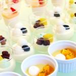 ババロアやアイス、ヨーグルトなどのデザート