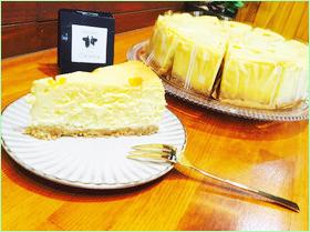 メロンのチーズケーキ