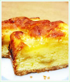 メロンの焼きケーキ