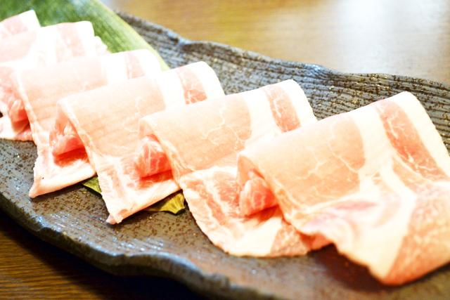 豚ロース薄切り肉のレシピ