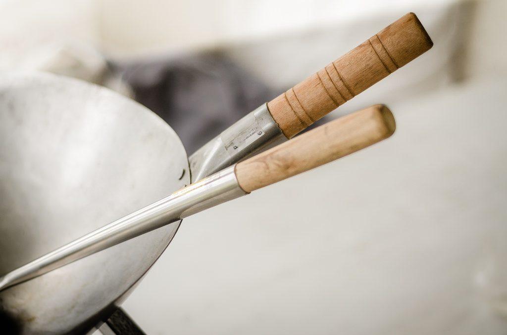 中華スープを作る鍋