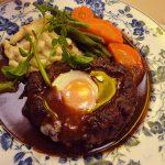 水島シェフのハンバーグレシピ