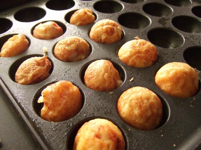 男子ご飯ホットプレート・たこ焼き器レシピ