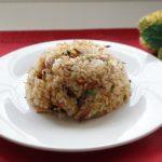 鰹のなまり節と白菜の和風チャーハンの作り方