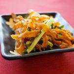 根菜皮のかき揚げのレシピ