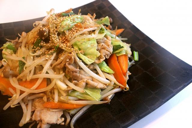 野菜炒めレシピ