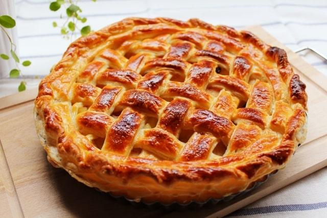 男子ごはんのアップルパイのレシピ。アーモンドプードルで!