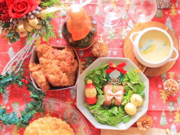 男子ごはんのカリカリフライドチキンのレシピ。クリスマスに。