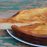 栗原はるみさんのベイクドチーズケーキ