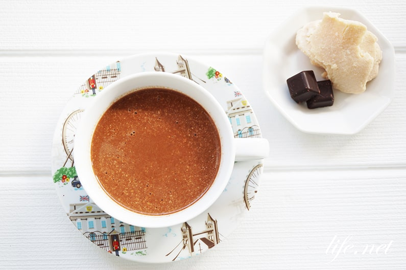 酒粕甘酒チョコレートのレシピ。高カカオチョコで健康に効果的。