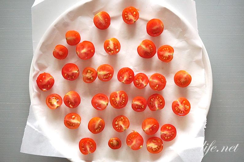 オーブンで作るドライトマトの作り方