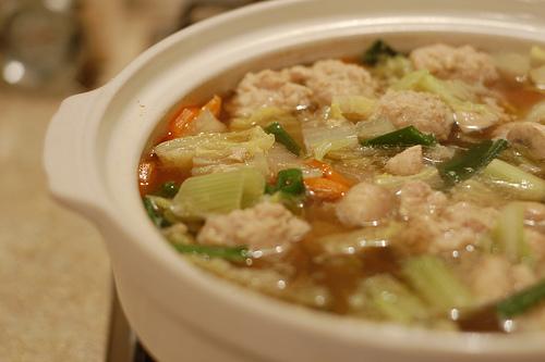 乳酸キャベツの鍋レシピ