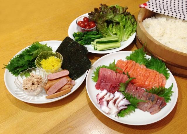 ソレダメの手巻き寿司レシピ