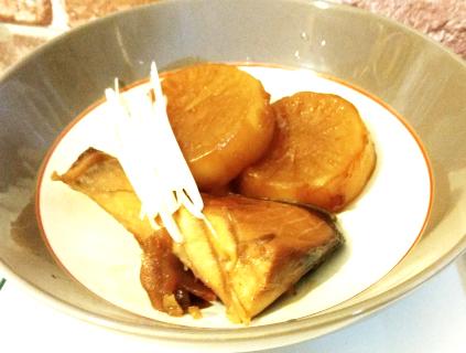 男子ご飯のピリ辛ブリ大根の作り方