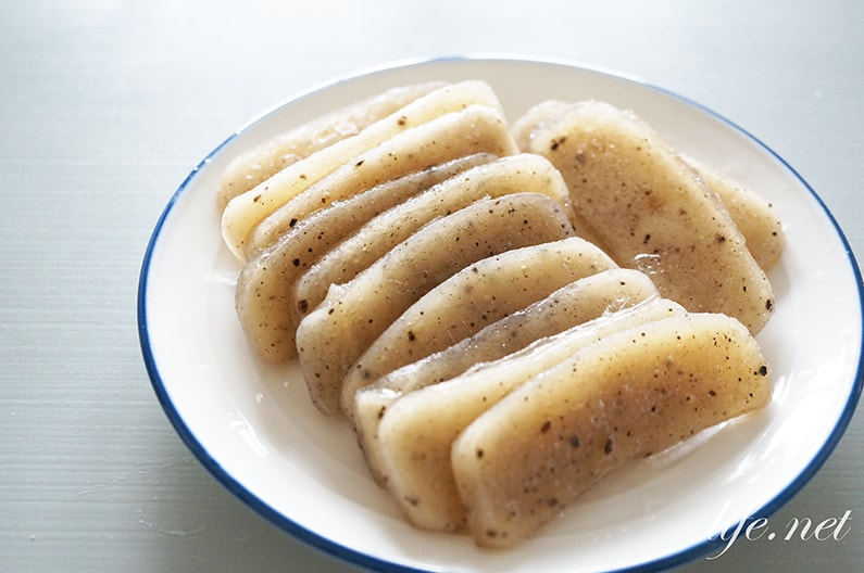 ヒルナンデスの氷こんにゃくのレシピ