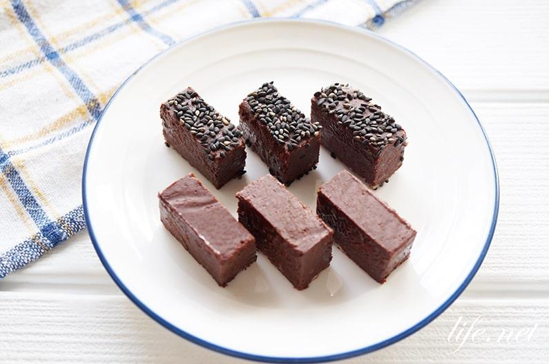 ピエールマルコリーニの生チョコのレシピ。日本酒生チョコの作り方。