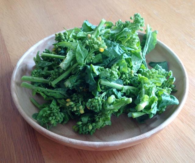 菜の花と豆腐の煮物の作り方