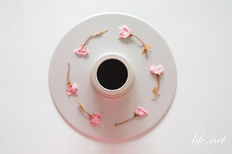 桜のシフォンケーキのレシピ。桜あんと塩漬けを使った作り方。