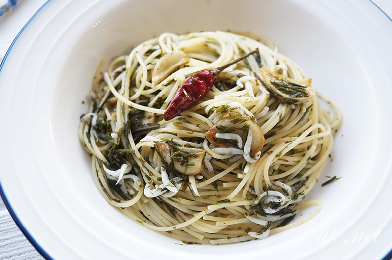 アカモクパスタのレシピ。あさイチでも話題の美味しい食べ方。