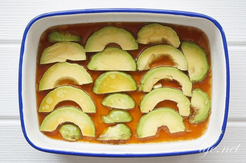 アボカドうどん温泉卵乗せのレシピ。めんつゆで簡単!