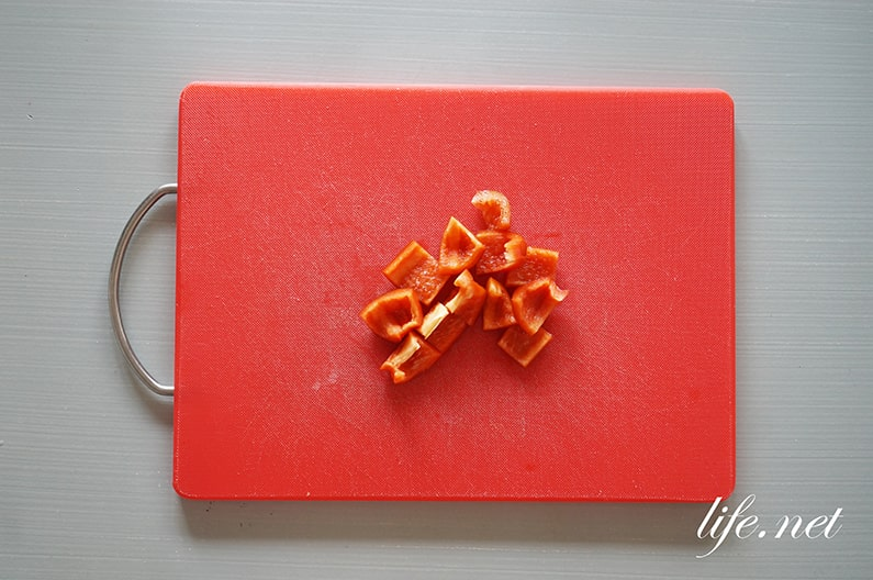 男子ごはんのなすとズッキーニのトマトソースピザのレシピ