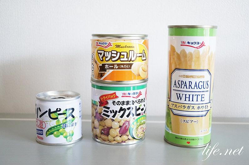 ガッテンで話題、缶詰の種類別の熟成期間。賞味期限が過ぎても大丈夫!?