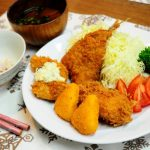 男子ごはんのミックスフライ定食レシピ