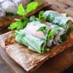 春雨サラダの生春巻き風レシピ