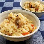 男子ごはんのアサリの炊き込みご飯レシピ