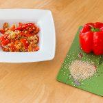あさイチのパプリカ目玉焼きレシピ