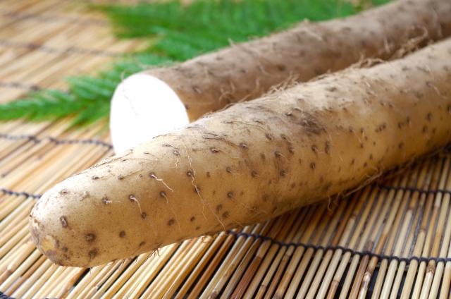 長芋を簡単にきれいに切る方法