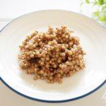 そばの実の茹で方と炊き方。冷蔵と冷凍保存の仕方も紹介。