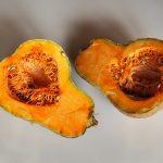 かぼちゃの煮物でイタリアン